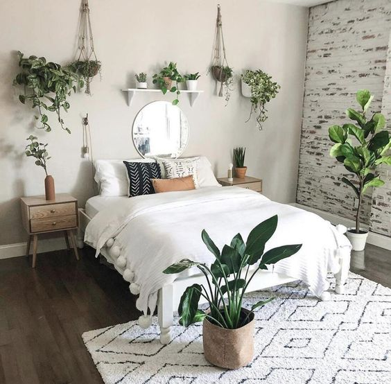 Surrounding The Bed with Plants