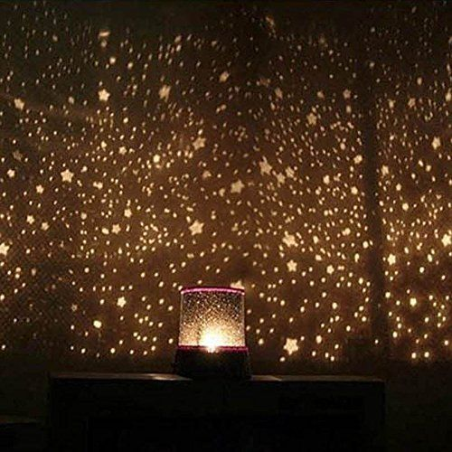 Beautiful Bathroom with Projector Lamp LED