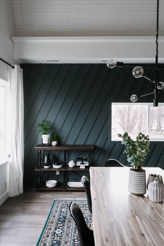 Beautiful Dining Room Wall