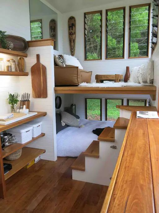 Interior decors and ideas for tiny house