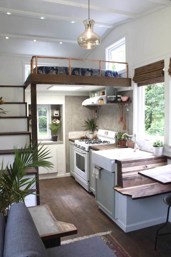 Elegant and Luxury Tiny House Ideas